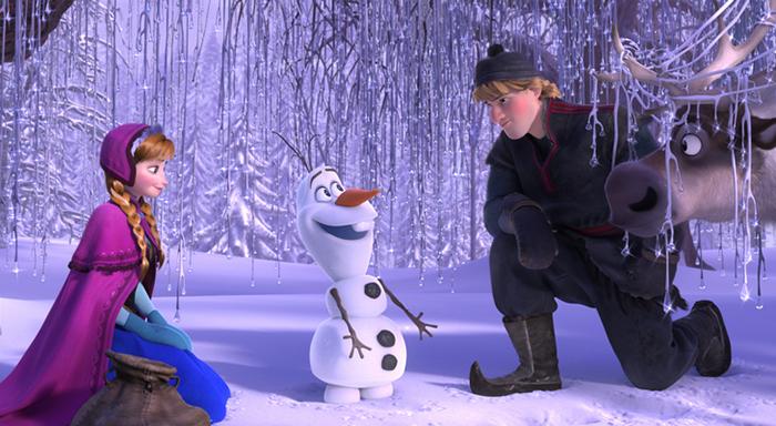 Загадки про героїв мультфільмів: Сніговик Олаф