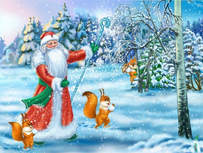 Новорічні загадки від Діда Мороза