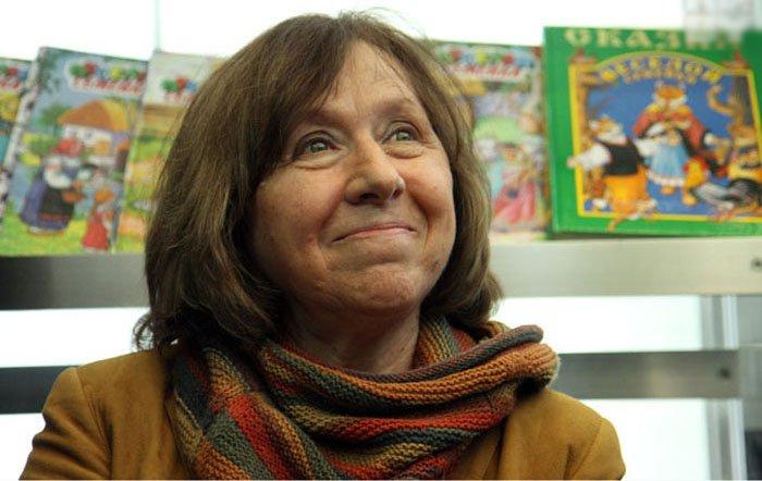 Світлана Алексієвич — білоруська письменниця, журналістка