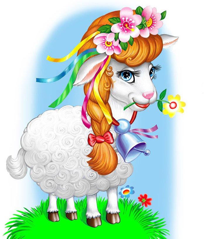 Загадки про домашніх тварин: вівця