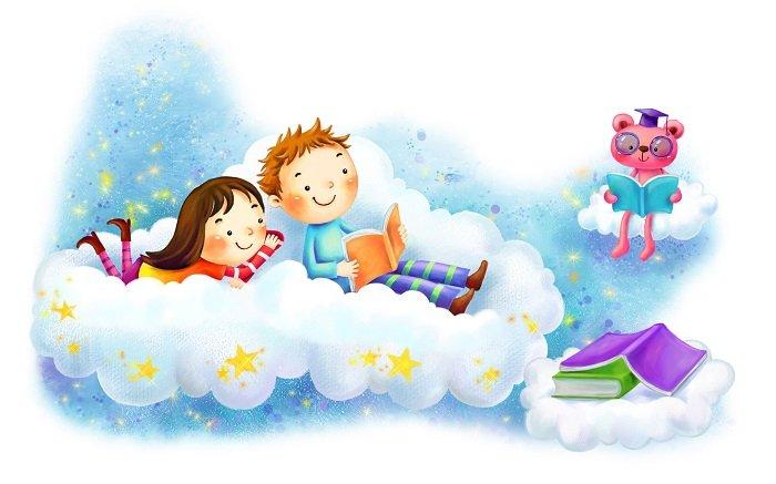 Дитяча вікторина про книжки