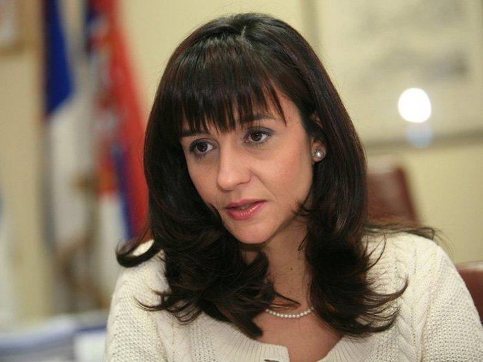 Сніжана Малович — екс-міністр юстиції Сербії.