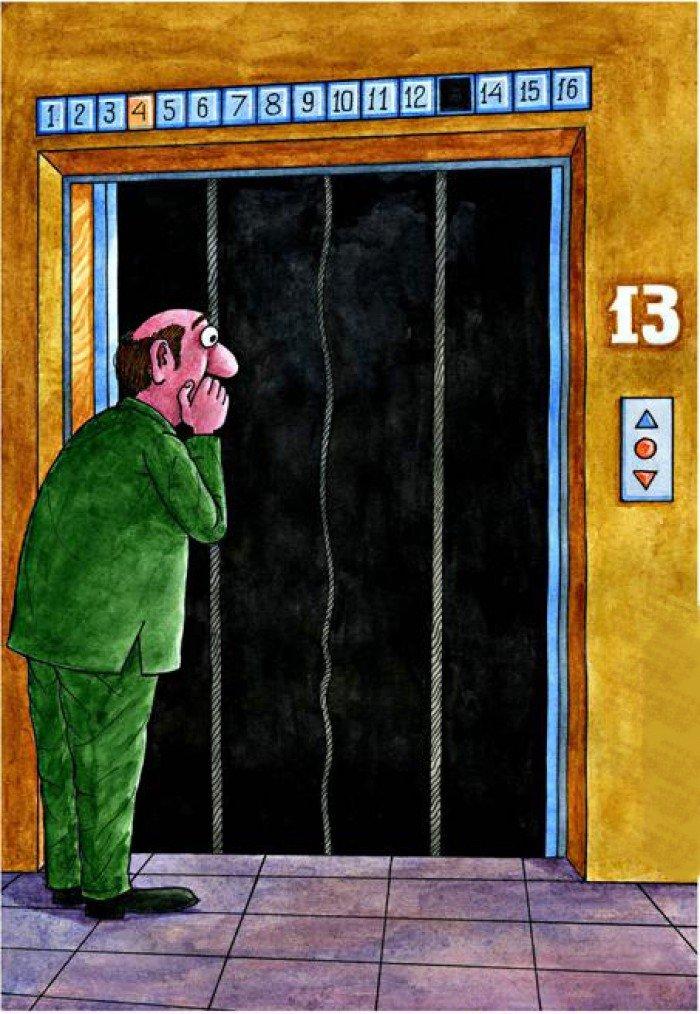 Как выжить в свободно падающей кабине лифта. Важно знать!