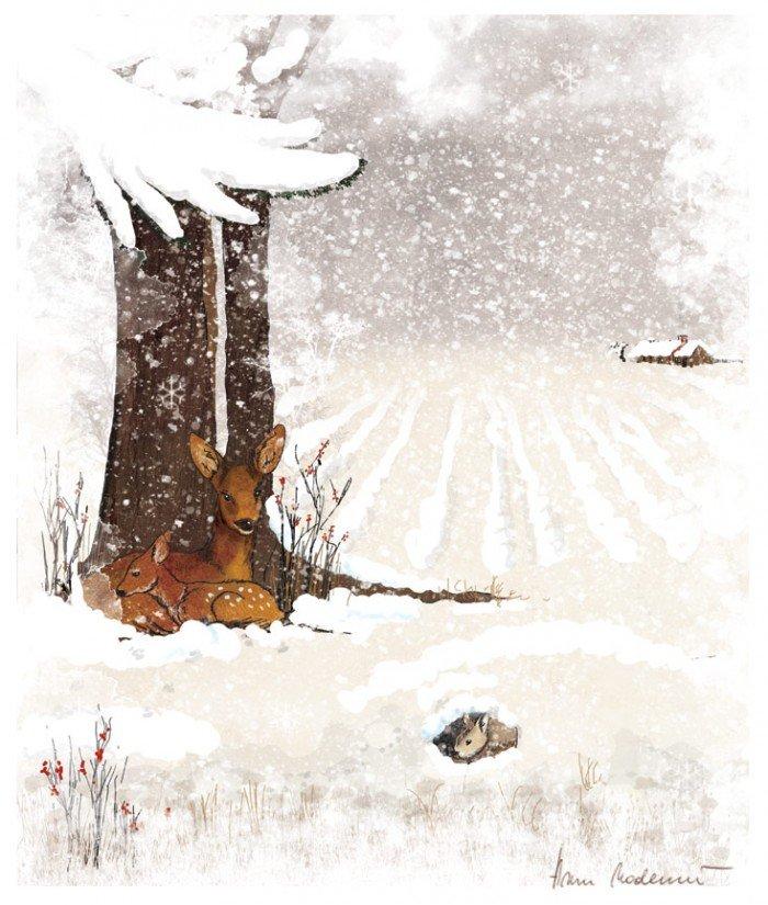 Дитячі загадки про зиму