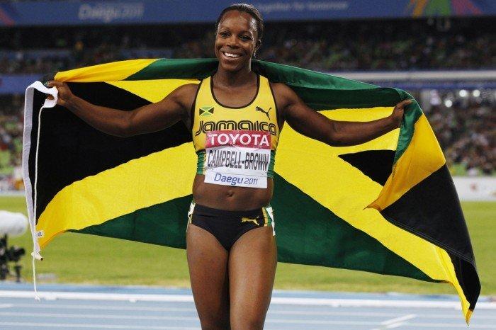 Вероніка Кэмпбелл-Браун (ямайська легкоатлетка, олімпійська чемпіонка)
