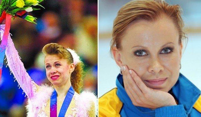 Оксана Баюл — выдающаяся украинская фигуристка.