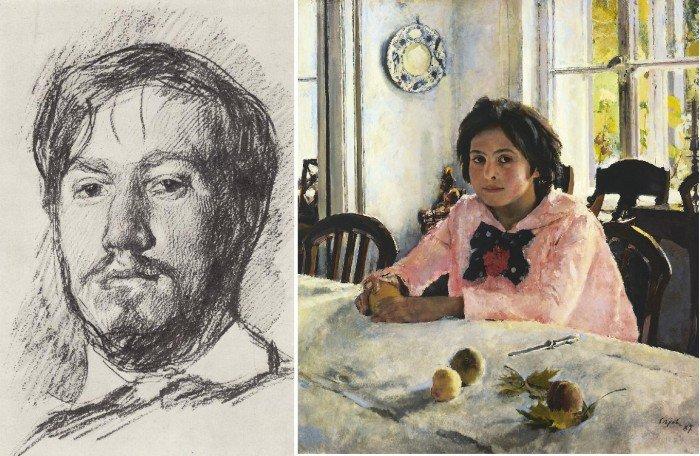 Известный российский художник Валентин Серов