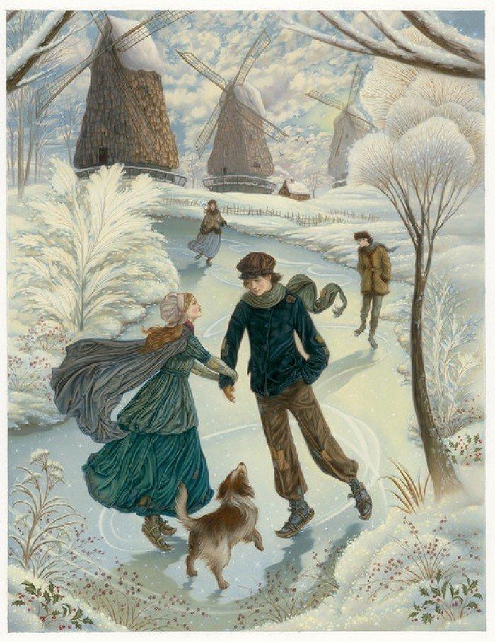 Детские загадки про зиму