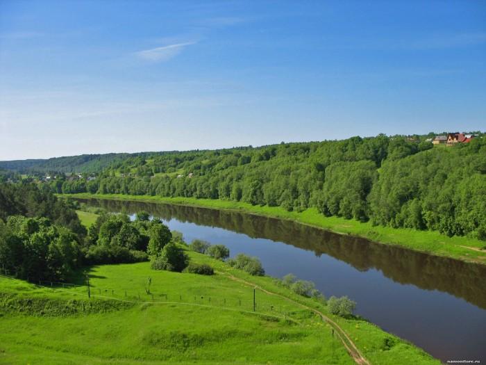 Загадки про природу: река