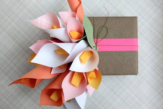 Бумажные цветы своими руками мастер класс - фото 1