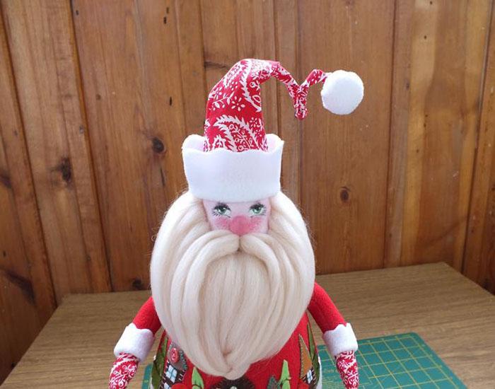 Дед Мороз своими руками, фото 24