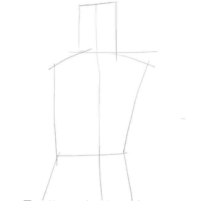 Как нарисовать парня, шаг 1
