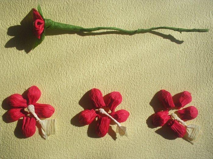Букет квітів з гофрованого паперу своїми руками - фото 18