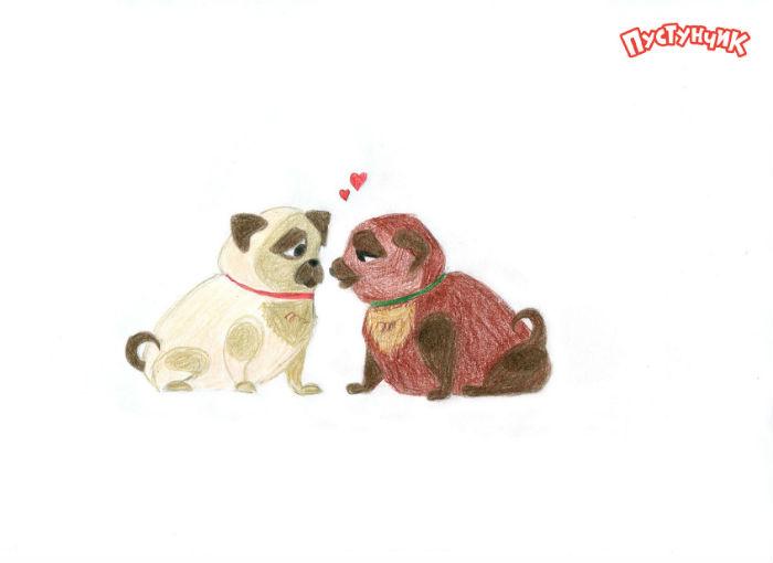 Рисунки на День Святого Валентина