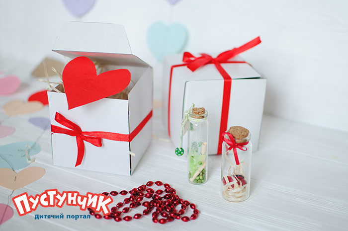 Поделки на День святого Валентина, коробочка