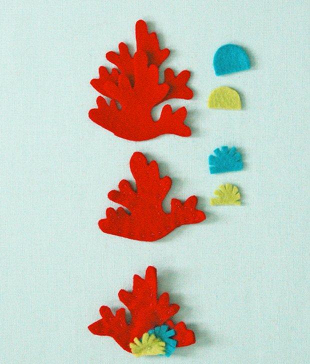 Дитячі поробки з фетру своїми руками - рибки з фетру, фото 10
