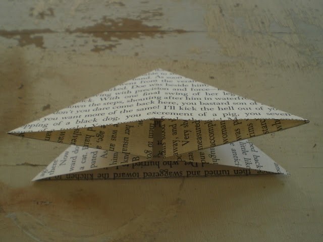 Орігамі метелик крок 7