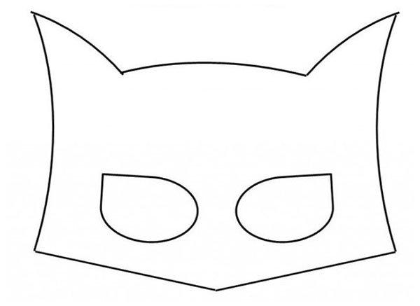 Маска Бэтмена своими руками, фото 6