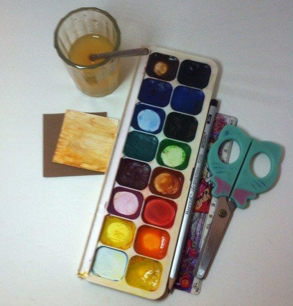 Скрапбукінг, майстер клас: листівка з днем народження своїми руками. Фото 9