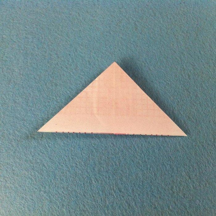 Пасхальный кролик в технике оригами