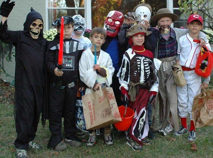 Маски на Хэллоуин своими руками, фото 1