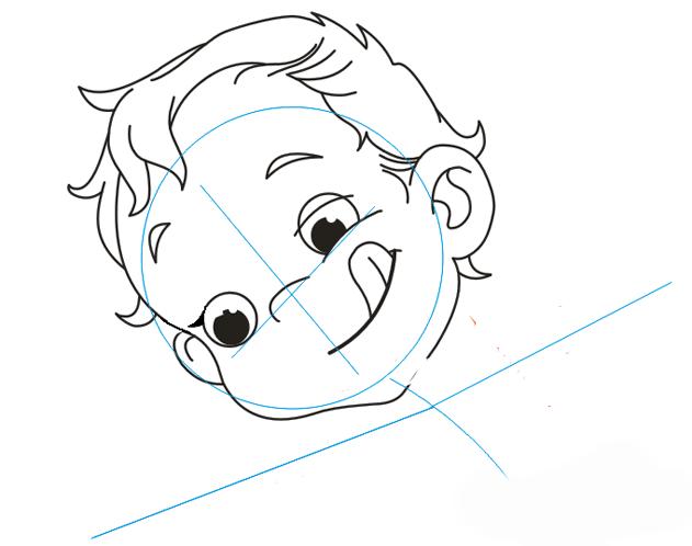 Як намалювати Купідона, урок малювання 4