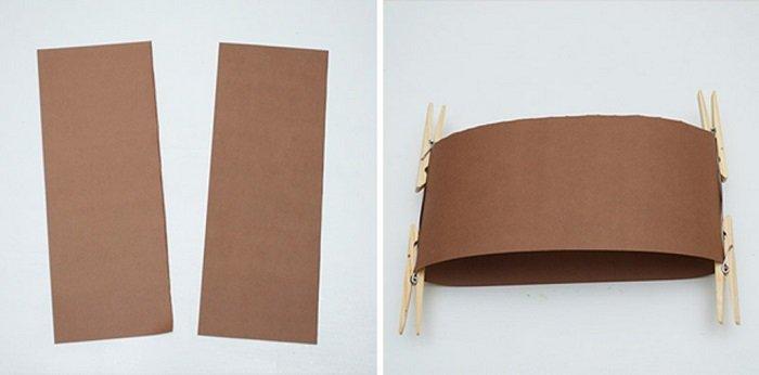 Маска обезьяны из бумаги своими руками, фото 2