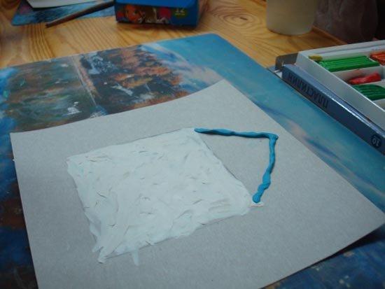 Ліплення з пластиліну в дитячому садку - будиночок, фото 5