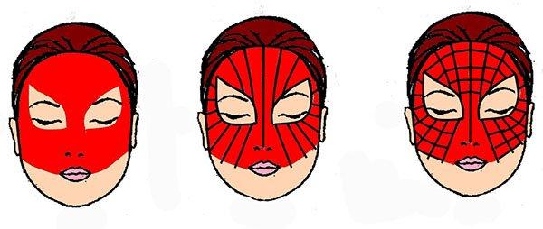 Як зробити маску Людини-павука, фото 10