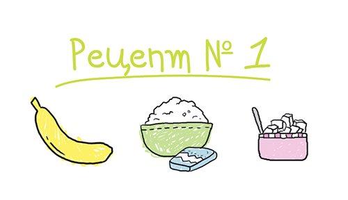 Рецепт морозива в домашніх умовах №1