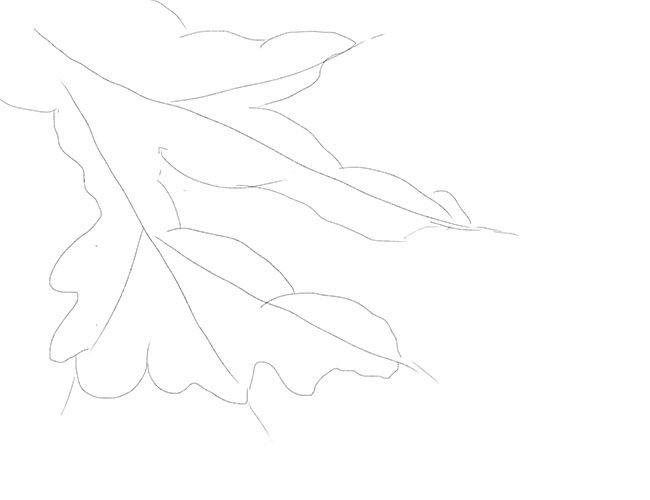 Як малювати снігурів. Крок 2
