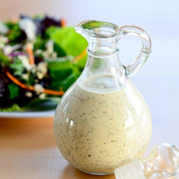 рецепты заправок и соусов для салатов