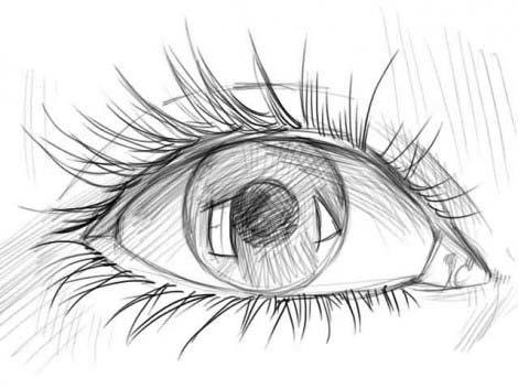 рисуем глаза этап 4