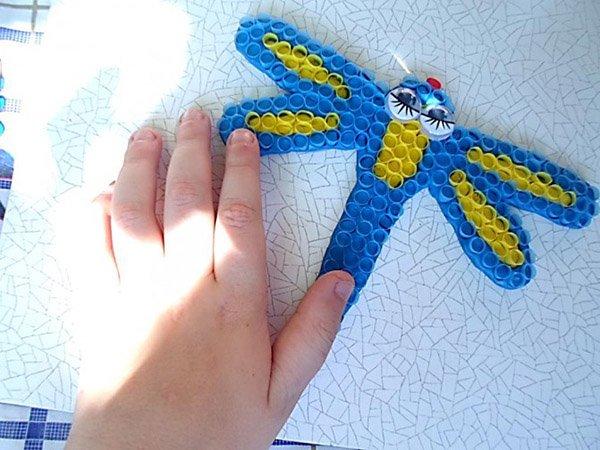 Яскраві літні саморобки з дітьми своїми руками - трубочки, фото 6