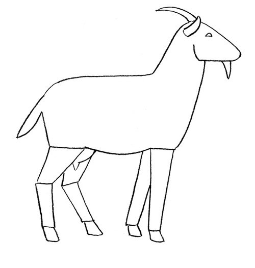 Малюємо козу