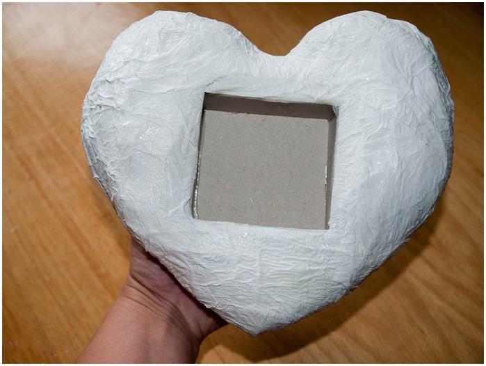 Лавандове сердечко у стилі вінтаж