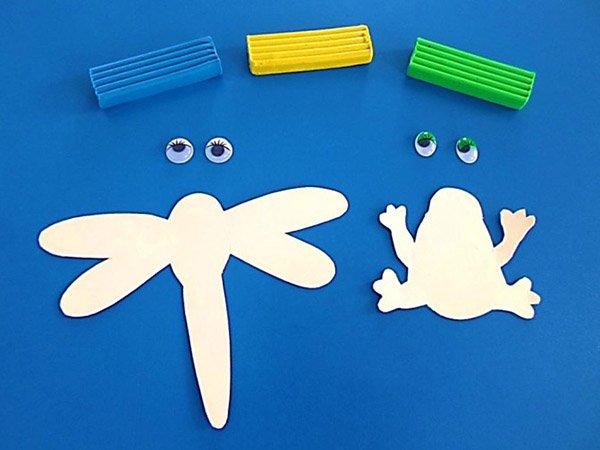 Летние поделки с детьми своими руками - мозаика из трубочек, фото 2