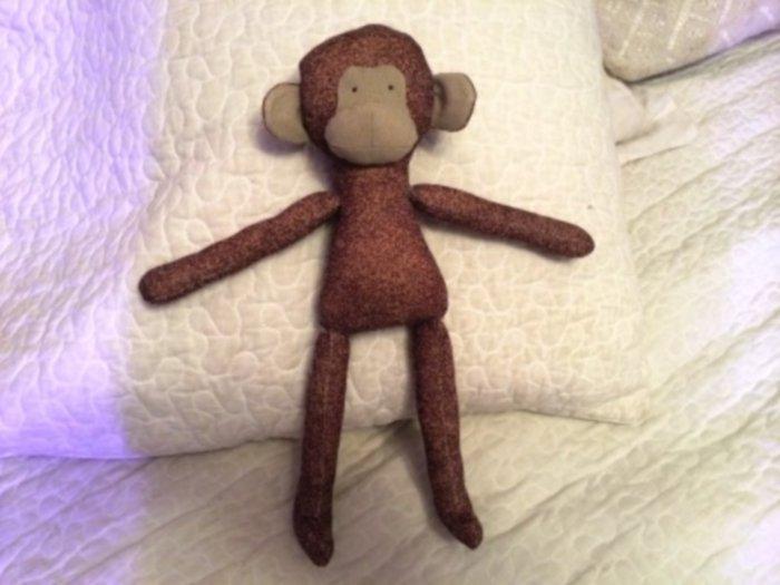 Мягкая игрушка-обезьянка своими руками, фото 1