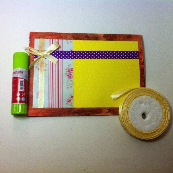 Скрапбукінг, майстер клас: листівка з днем народження своїми руками. Фото 8