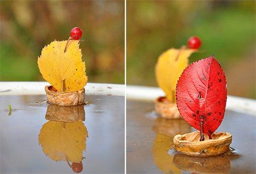 Кораблик з пластиліну та горіха - майстер-клас, фото 4