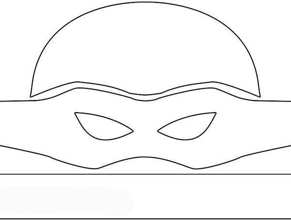 Як зробити маску черепашки-ніндзя, фото 2