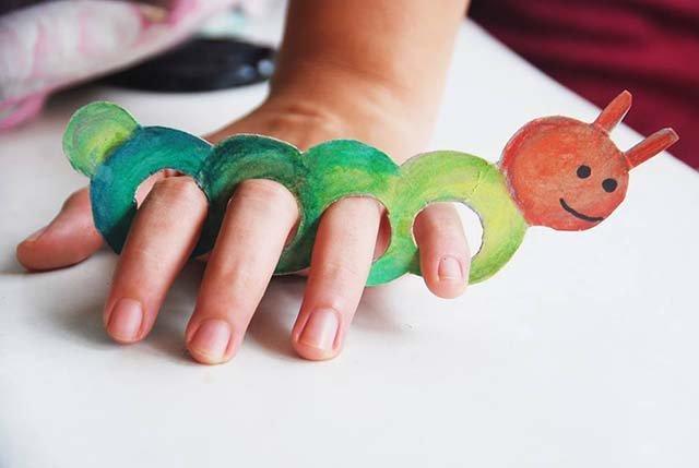 Как сделать пальчиковый театр из бумаги, фото 17