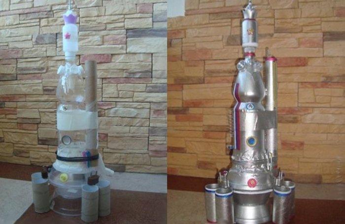 Ракета з картону - фото 6