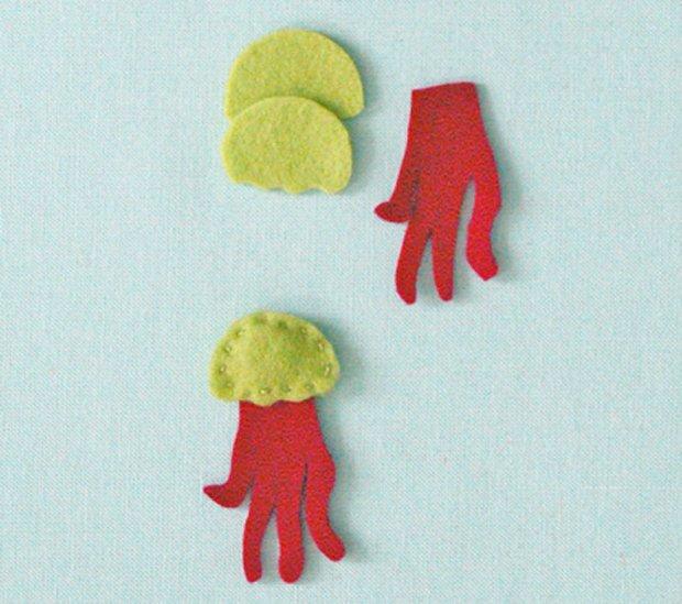 Дитячі поробки з фетру своїми руками - рибки з фетру, фото 4