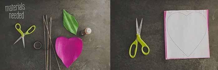 Розы из гофробумаги своими руками - фото 1