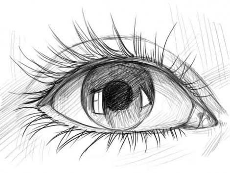 рисуем глаза этап 5