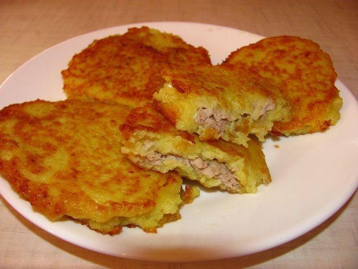 Рецепт дерунів з м'ясом, фото 6