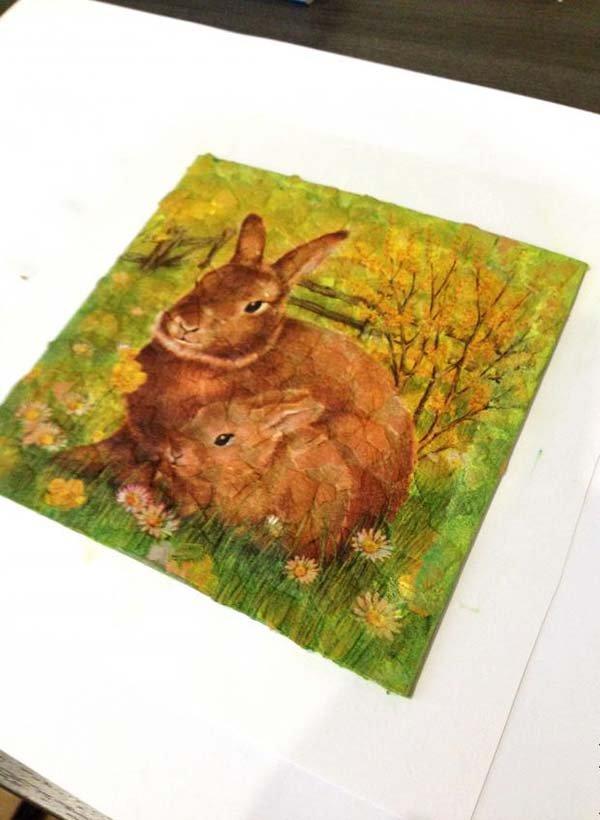 Простая мозаика из яичной скорлупы для детей, фото 10