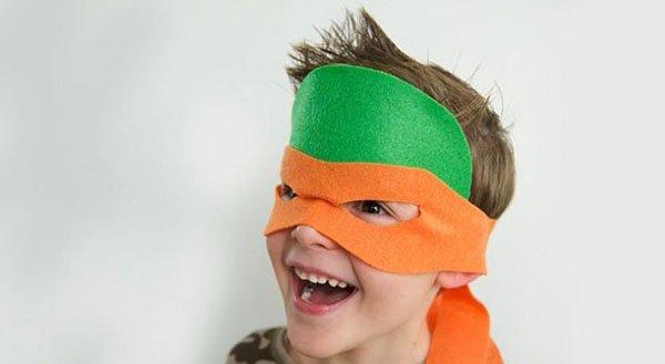 Как сделать маску черепашки-ниндзя, фото 7