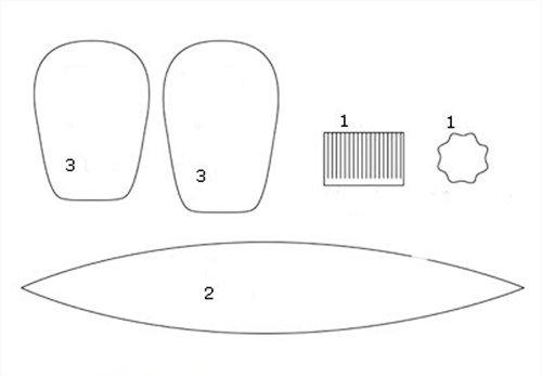 Как сделать тюльпаны из гофрированной бумаги – схема, фото 8